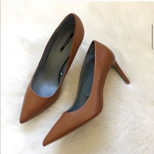Zara Tan Heels! Perfect for Work!